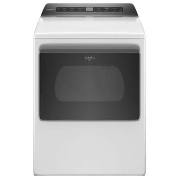 Whirlpool 7.4 Cu. Ft. Front Load Electric Dryer with Wifi in White, , large