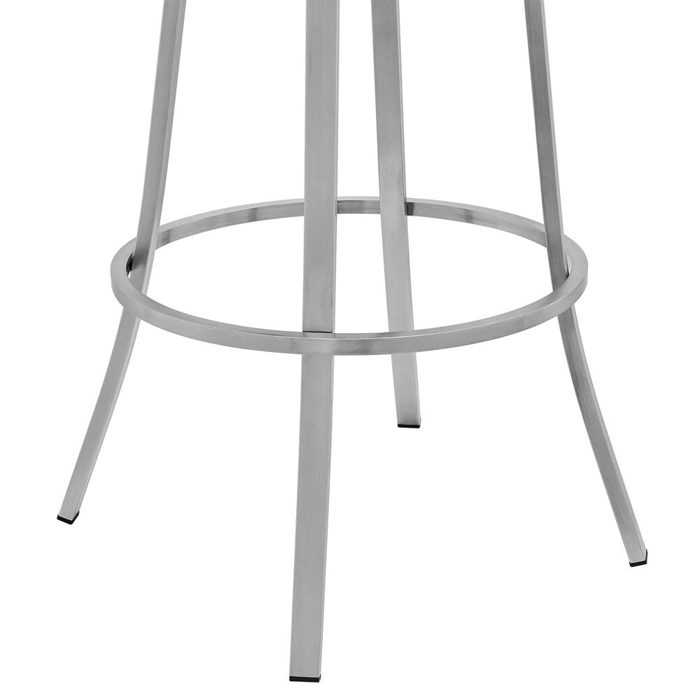"""Blue River Palmdale 30"""" Swivel Barstool in White, , large"""
