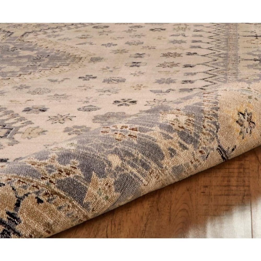 """Feizy Rugs Grayson 3577F 1'8"""" x 2'8"""" Beige and Gray Runner, , large"""