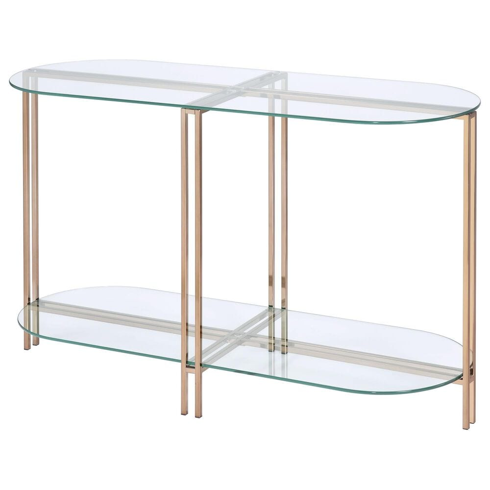 Gunnison Co. Veises Sofa Table in Champagne, , large