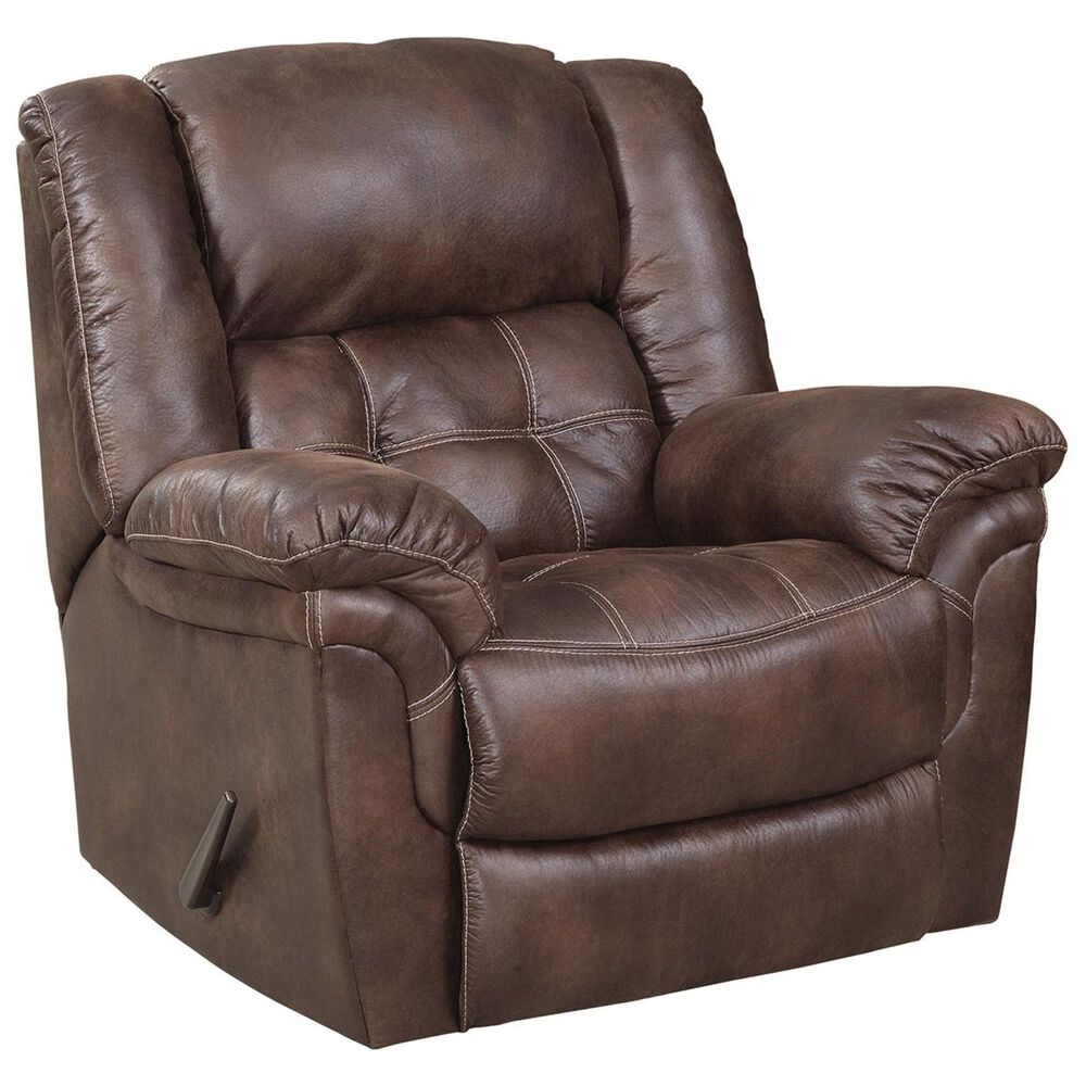 HomeStretch 2-Piece Reclining Sofa and Rocker Recliner in Chocolate , , large