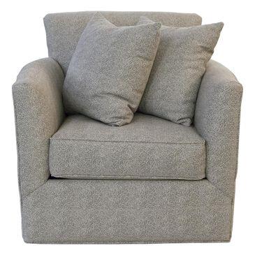 Moda Swivel Chair in Freckles Silver Fox, , large