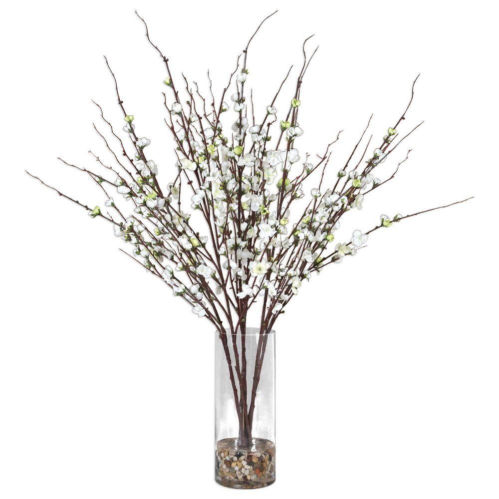 Uttermost Quince Blossoms Centerpiece, , large