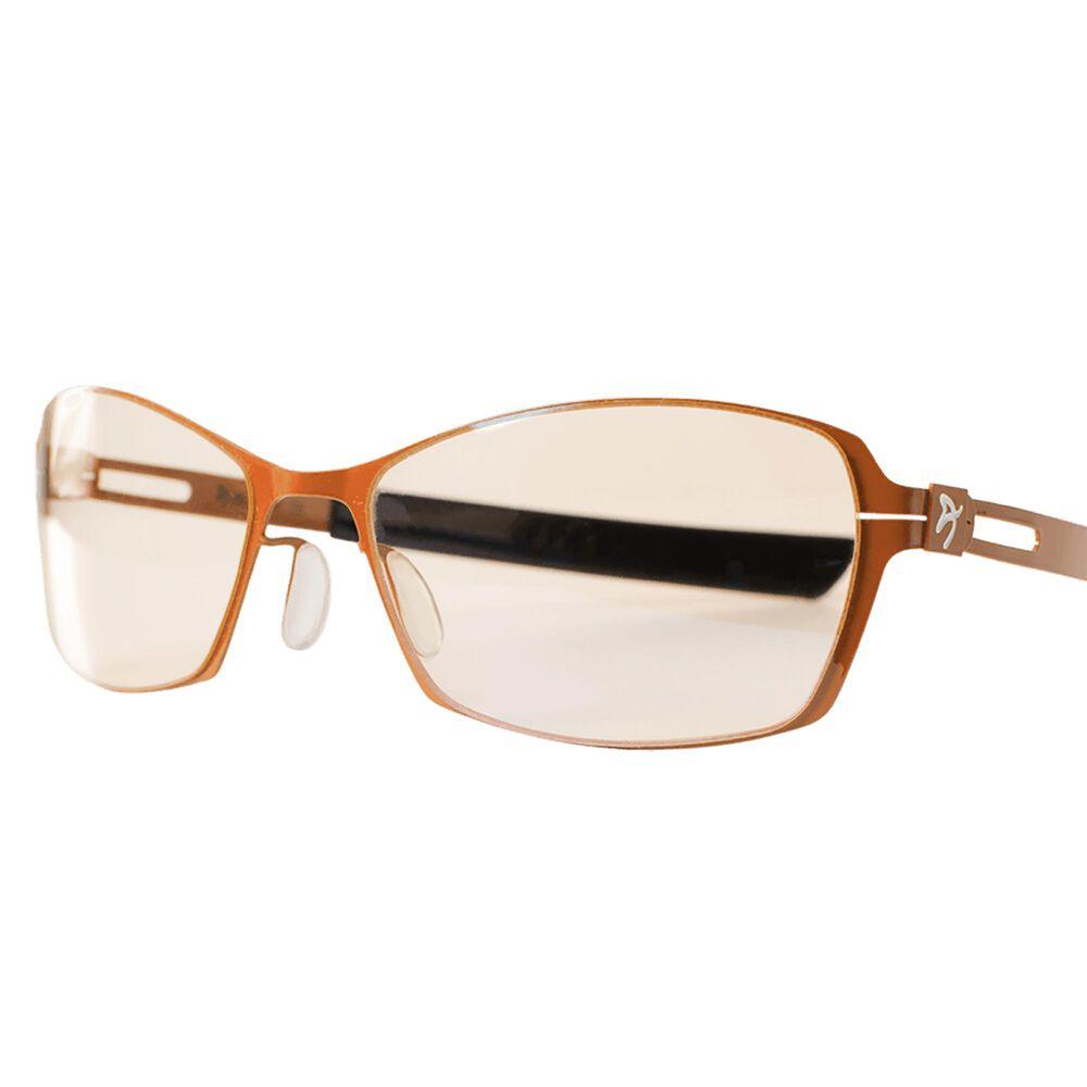 Arozzi Visione VX500 Blue Light Blocking Computer and Gaming Glasses - Anti-Glare, UV Protection - Orange, , large