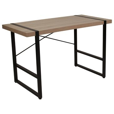 Flash Furniture Hanover Park Console Table in Brown, , large