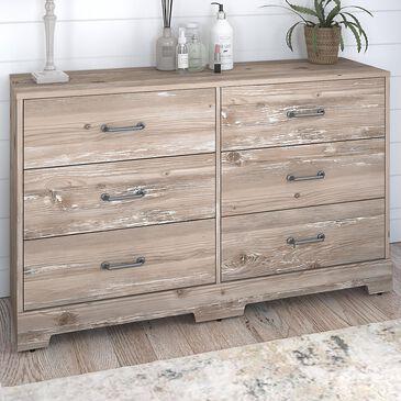 Bush River Brook Bedroom 6-Drawer Dresser in Barnwood, , large