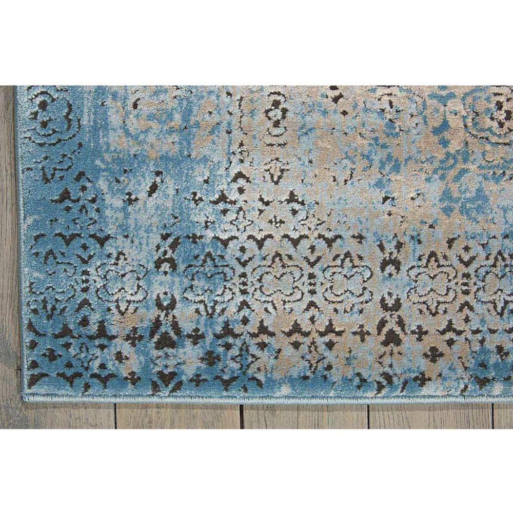 "Nourison Karma KRM01 9'3"" x 12'9"" Blue Area Rug, , large"