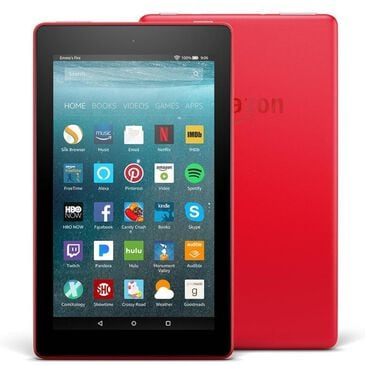"""Amazon Fire 7 HD 7"""" Tablet in Punch Red w/ Alexa -16GB, , large"""