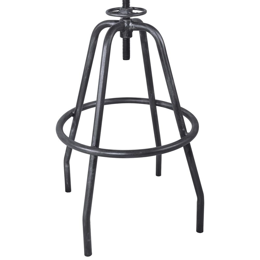Blue River Perlo Adjustable Bar Stool in Industrial Gray, , large