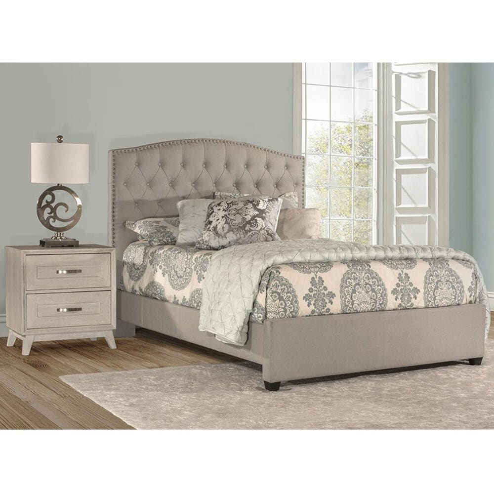 Richlands Furniture Lila Queen Bed in Dove Gray, , large