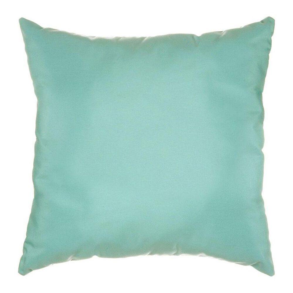 "The Hammock Source Sunbrella 18"" x 18"" Throw Pillow in Canvas Glacier, , large"