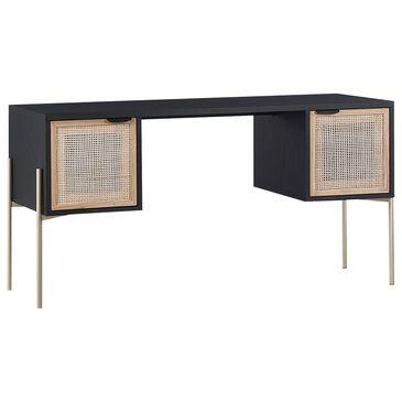 Sunpan Trading & Importing Avida Desk in Black Oak, Gold and Natural, , large