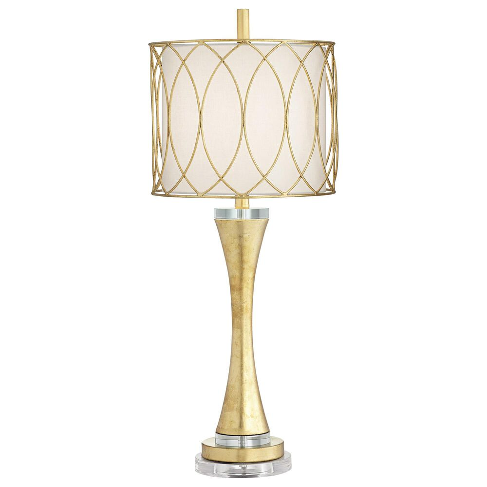 Pacific Coast Lighting Trevizo Table Lamp in Gold Leaf, , large