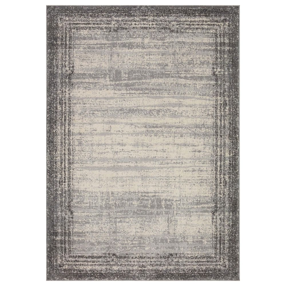"""Loloi II Austen AUS-02 9'3"""" x 13'3"""" Pebble and Charcoal Area Rug, , large"""