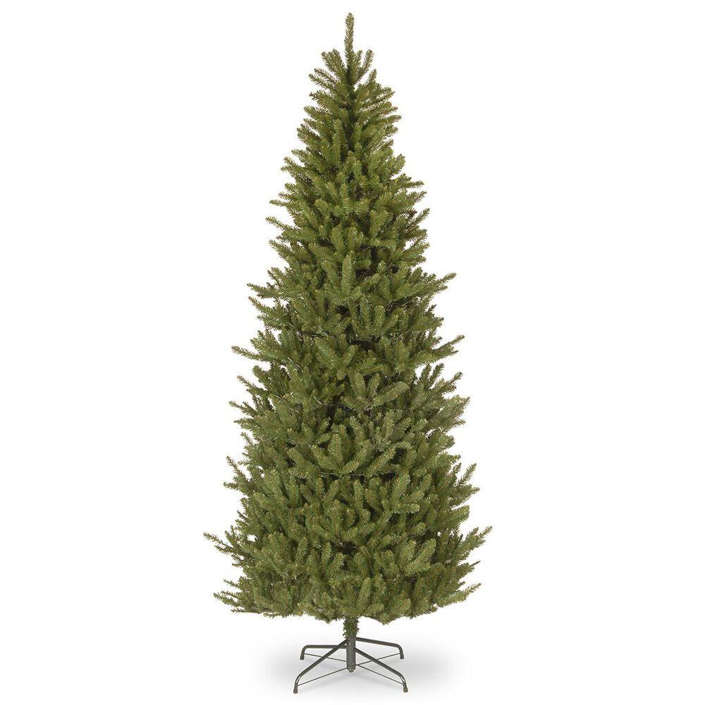 "National Tree 7.5"" Natural Fraser Slim Fir Hinged Tree, , large"