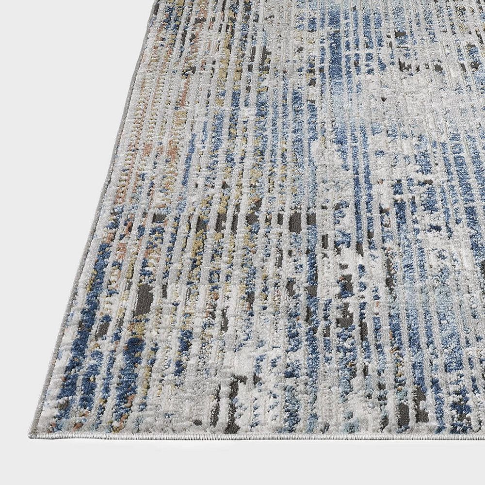 """Central Oriental Orient Darindan 3821.81 7'10"""" x 9'10"""" Ivory and Grey Area Rug, , large"""
