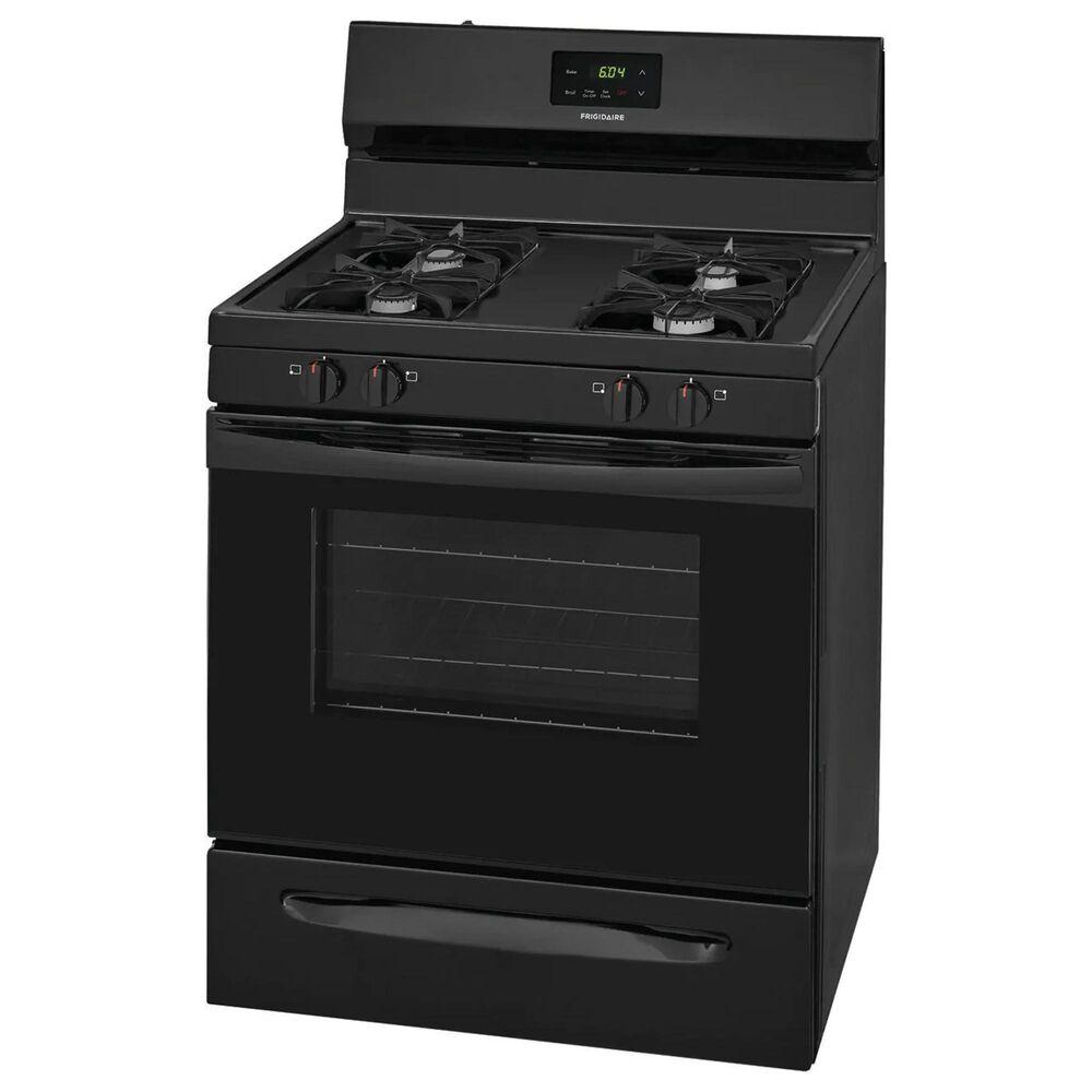 "Frigidaire 30"" Freestanding Manual-Clean Gas Range in Black, , large"