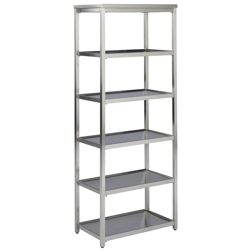Home Styles Bold 6-Tier Bath Shelf in Stainless Steel, , large
