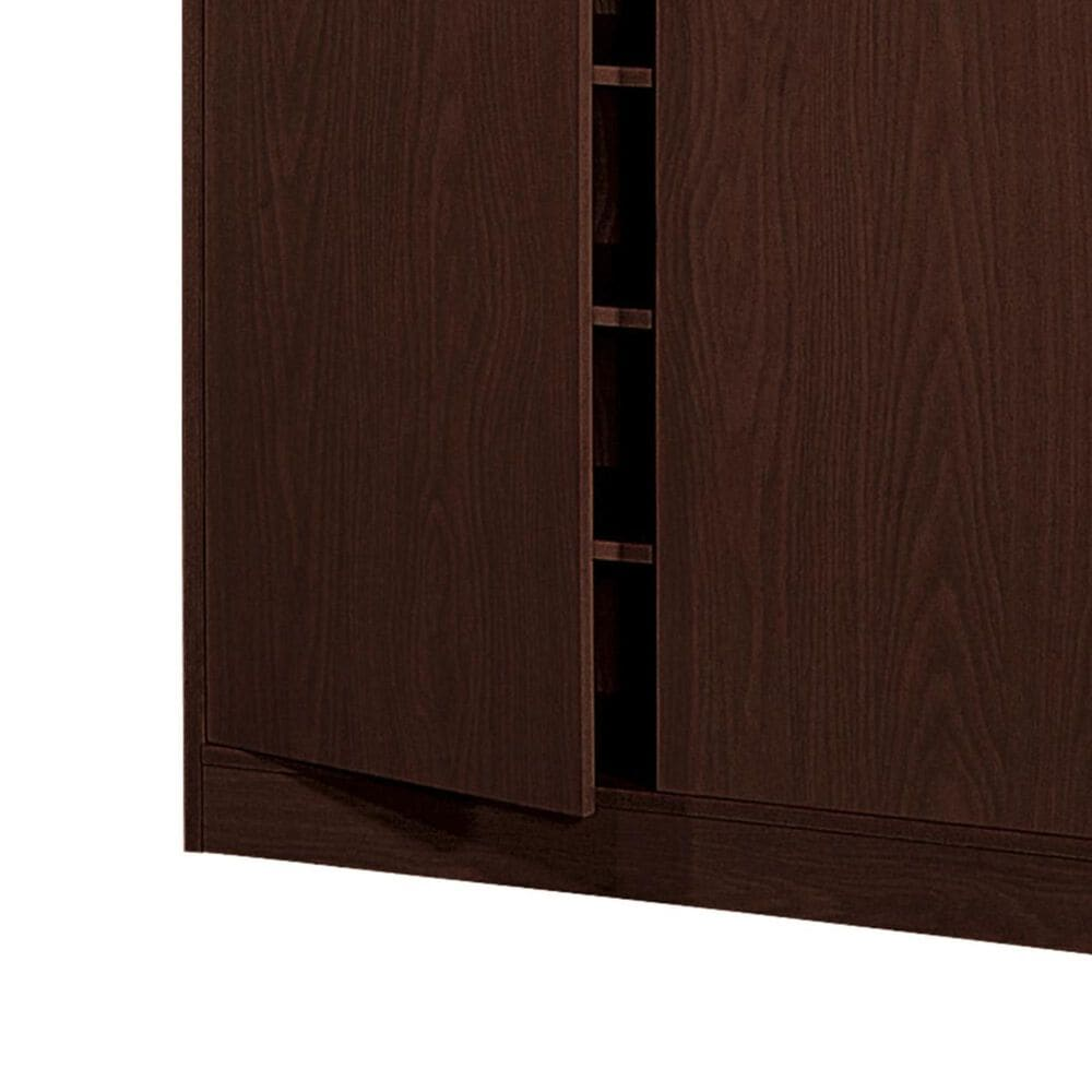 Global Movement 5-Shelf Shoe Cabinet in Red Cocoa, , large