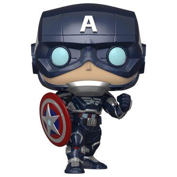 Funko Pop Marvel Avengers Captain America, , large