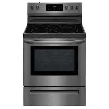 """Frigidaire 30"""" Freestanding Electric Range in Black Stainless Steel, , large"""