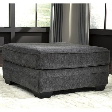 Signature Design by Ashley Tracling Oversized Accent Ottoman in Slate, , large