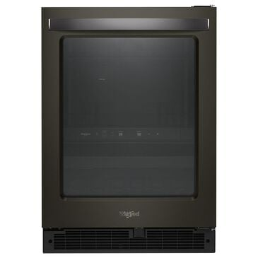 "Whirlpool 24"" 5.2 cu. ft. Undercounter Beverage Center in Black Stainless Steel, , large"