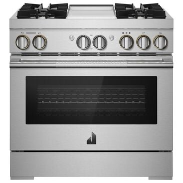 """Jenn-Air 36"""" Single Oven Dual Fuel Professional Range in Stainless Steel, , large"""