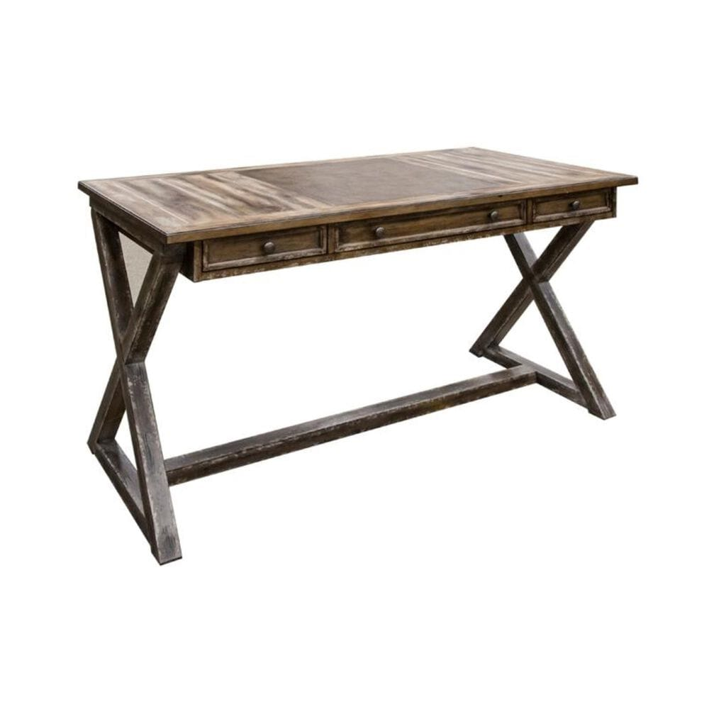 Hooker Furniture Traditional Writing Desk with 3 Drawers, , large