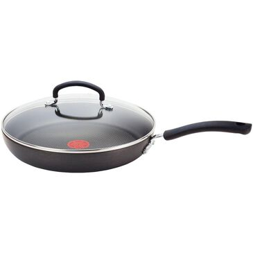 """T-Fal Ultimate 12"""" Deep Saute Pan with Lid in Dark Gray , , large"""