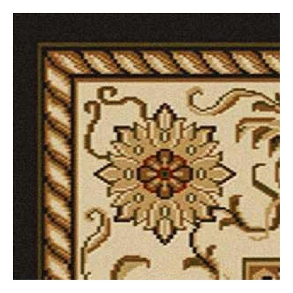 """Radici USA Como 1599 3'3"""" x 4'11"""" Brown Area Rug, , large"""