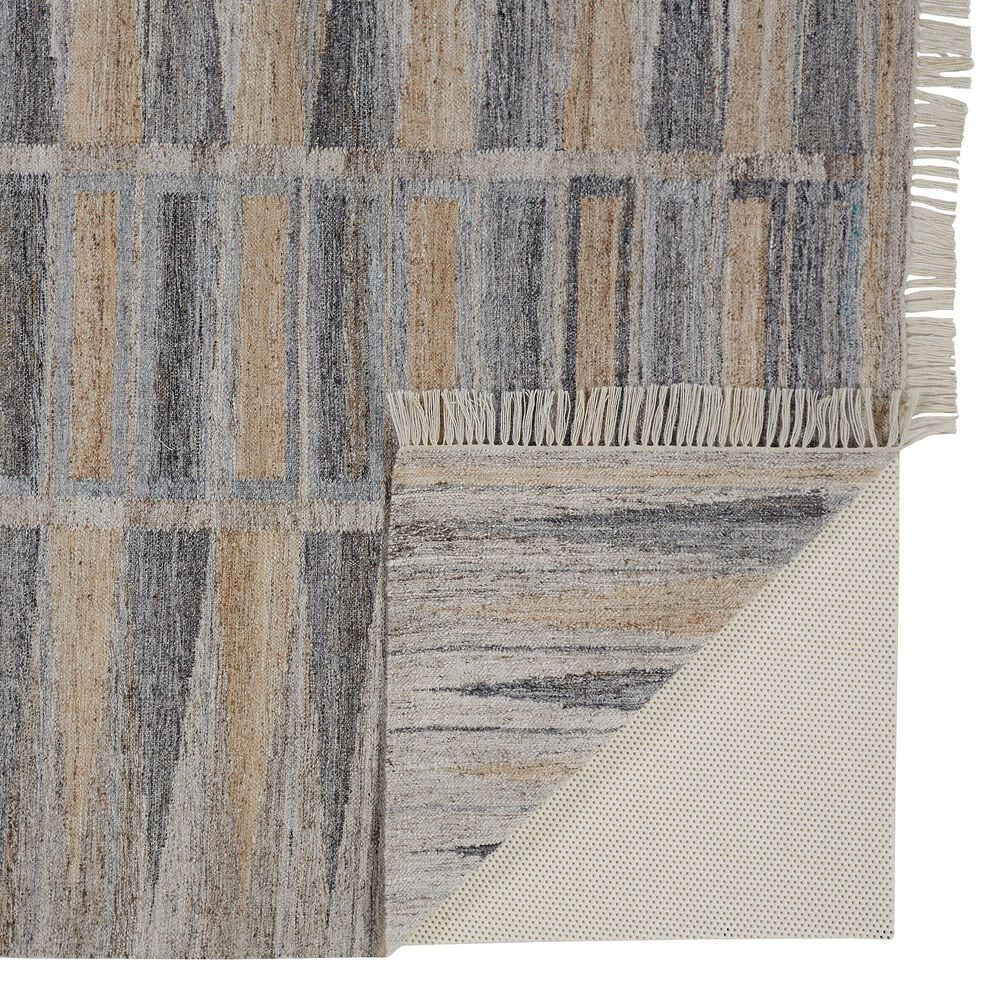 Feizy Rugs Beckett 0817F 5' x 8' Gray and Beige Area Rug, , large