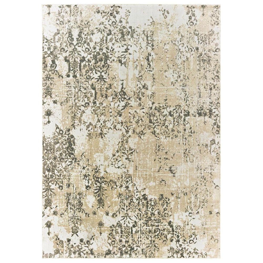"""Oriental Weavers Bowen 2067W 2'3"""" x 7'6"""" Grey Runner, , large"""