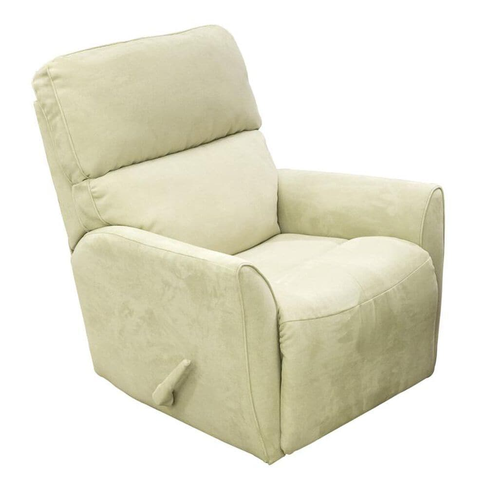 Style Expressions White Microfiber Manual Rocker Recliner, , large