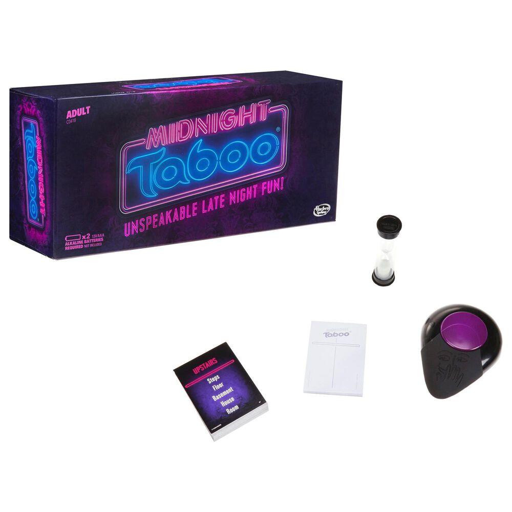 Hasbro Gaming Midnight Taboo Game, , large