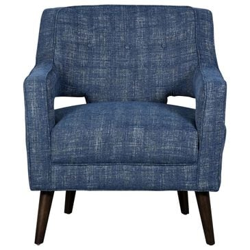Trend Labs Fiona Accent Chair in Navy Blue, , large