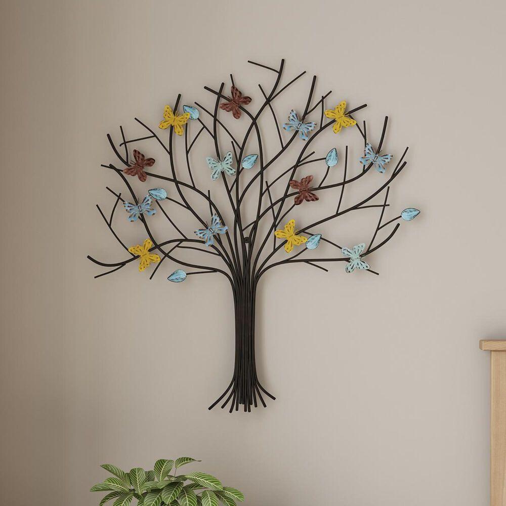 Timberlake Lavish Home Tree of Life Metal Wall Art in Distressed Paint, , large