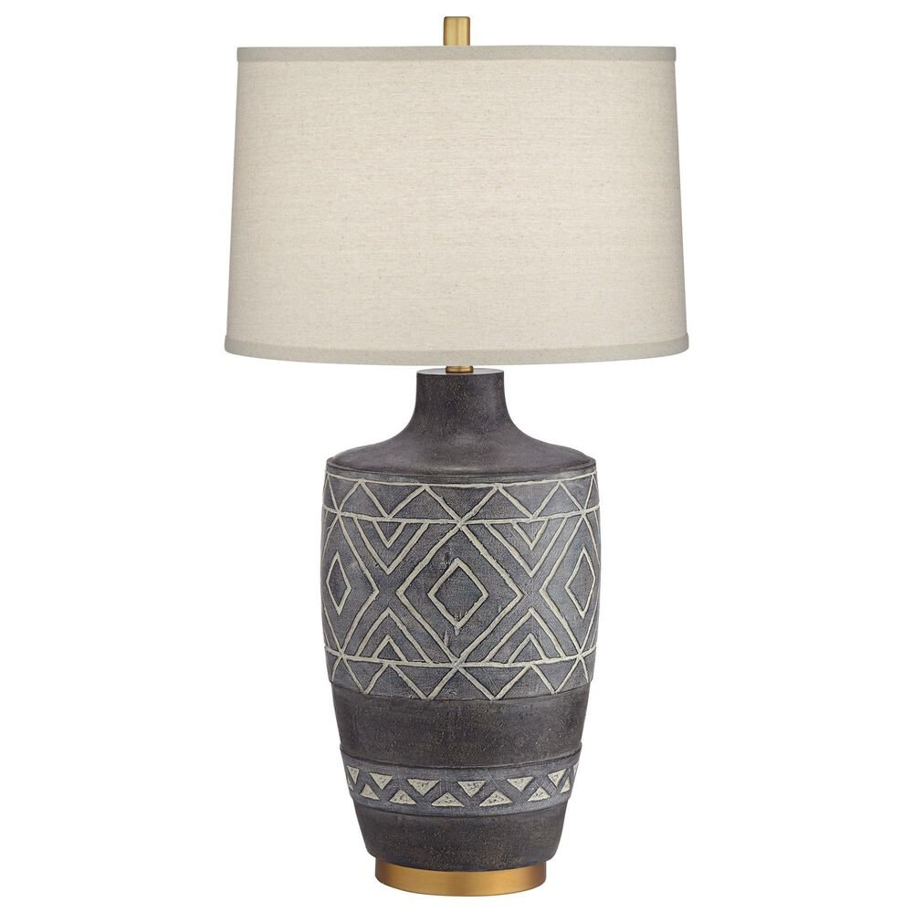 Pacific Coast Lighting Mesa Table Lamp in Black, , large