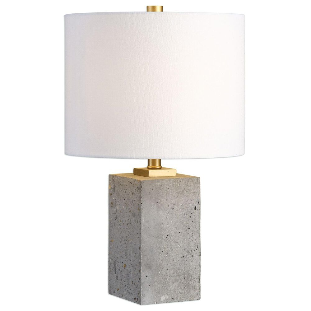Uttermost Drexel Block Lamp, , large