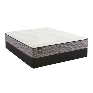 Sealy Essentials Hildegard Firm Queen Mattress with High Profile Box Spring, , large