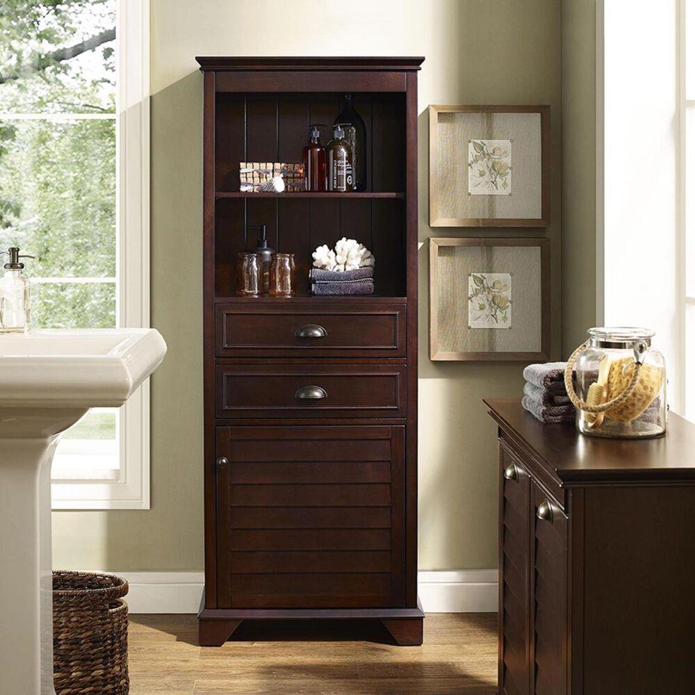 Crosley Furniture Lydia Tall Cabinet in Espresso, , large