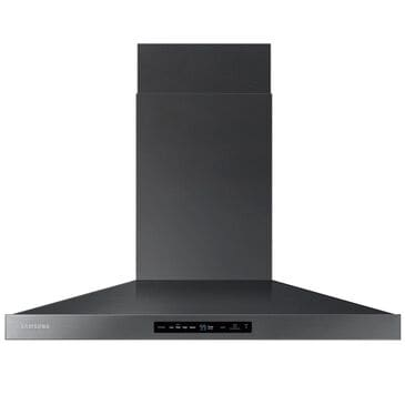 "Samsung 36"" Wall Mount Range Hood in Black Stainless Steel, , large"