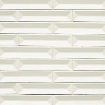 "Premier Half Baked Whipped Cream 1"" x 6"" Mosaic Sheet, , large"