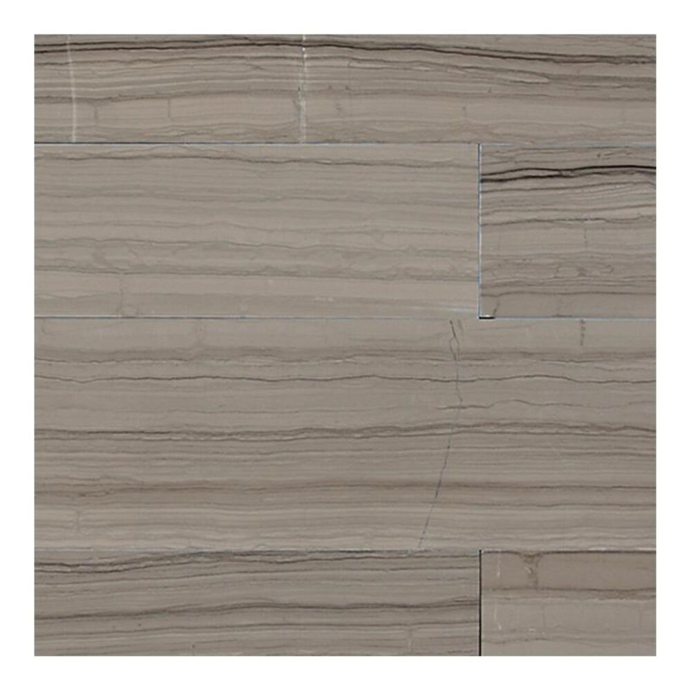 """Dal-Tile Marble Silver Screen 12"""" x 24"""" Vein-Cut Honed Natural Stone Tile, , large"""