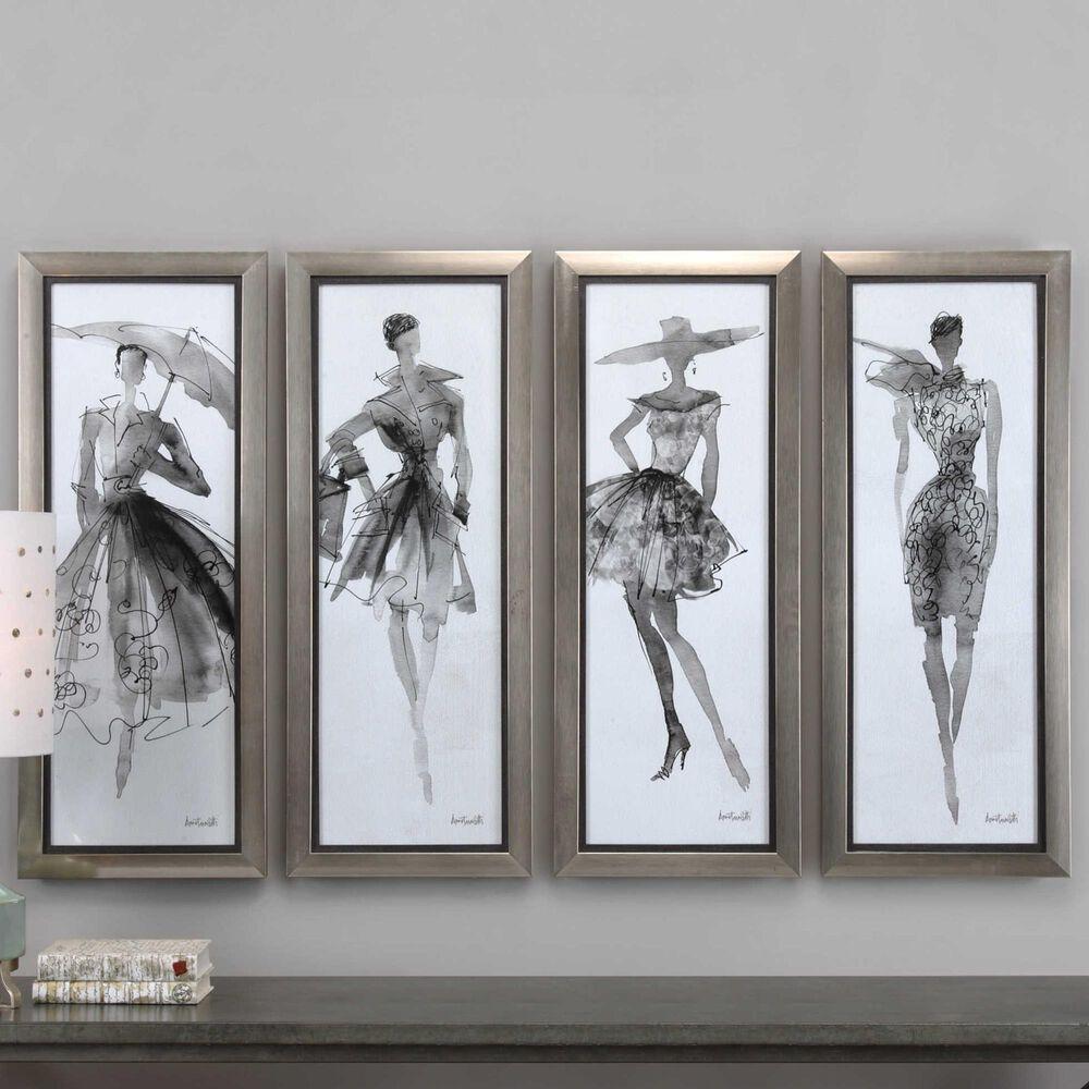 Uttermost Fashion Sketchbook Art (Set of 4), , large