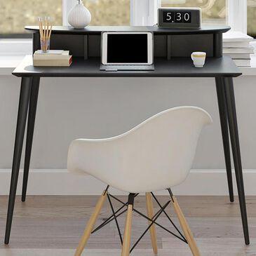 DHP Glenview Desk with Riser in Matte Black, , large