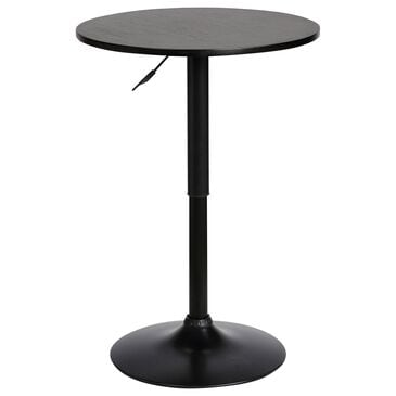 Blue River Bentley Adjustable Pub Table in Black, , large
