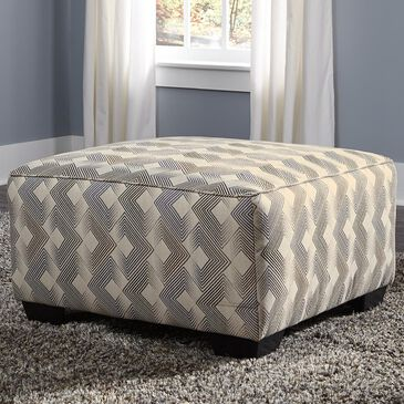 Signature Design by Ashley Eltmann Oversized Accent Ottoman in Slate, , large
