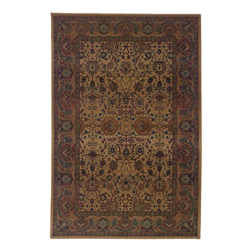 Oriental Weavers Kharma 332W 2' x 3' Beige Scatter Rug, , large