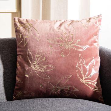 "Safavieh Yari 18"" Pillow in Cranberry and Cream, , large"